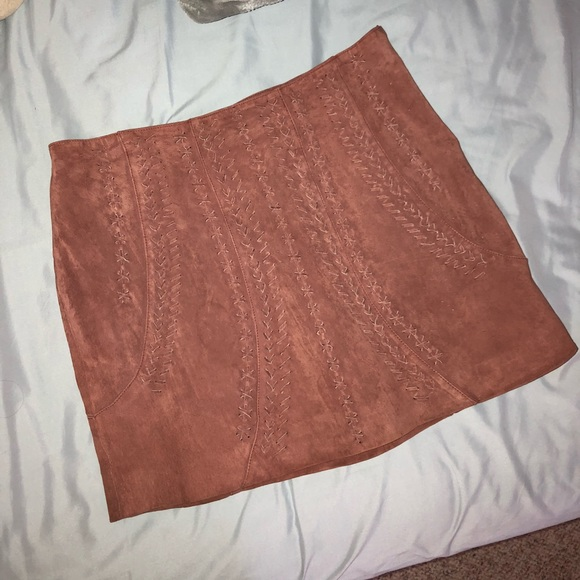 9834714cb2 Willow & Clay Skirts | Willow Clay Suede Skirt | Poshmark
